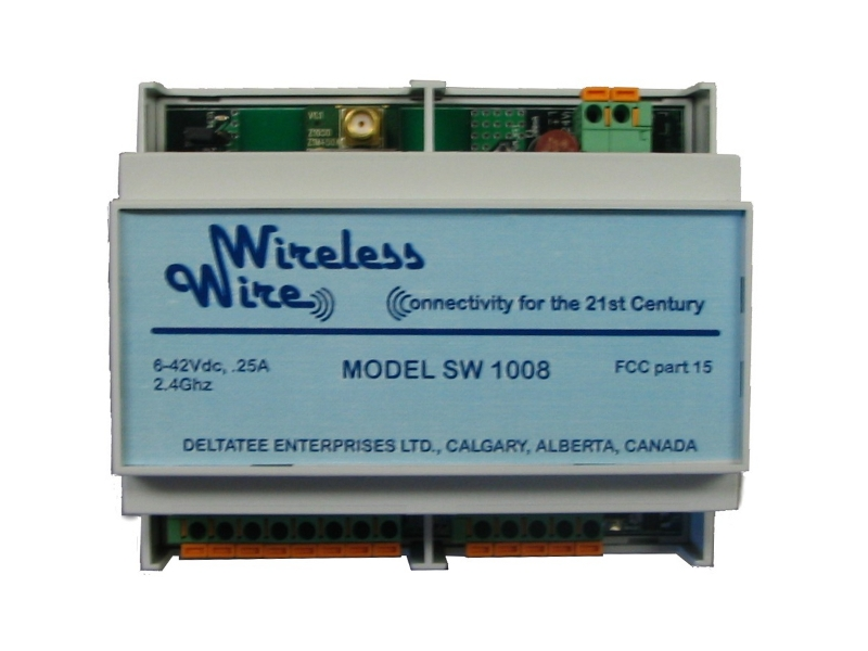 Front view of Wireless Wire for PLC